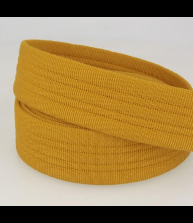 Tassenband stevig - mosterd