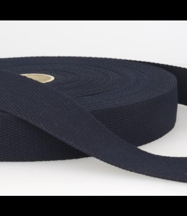 Tassenband marineblauw s023