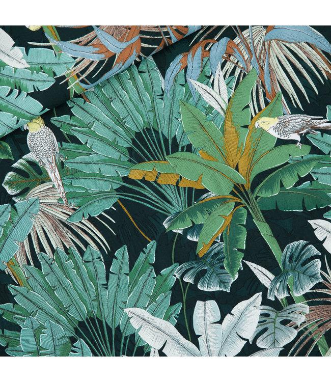 SYAS17 Jungle viscose rayon - green gables