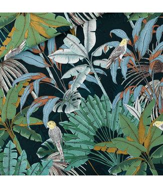 See You At Six SYAS17 Jungle katoen canvas gabardine twill - green gables
