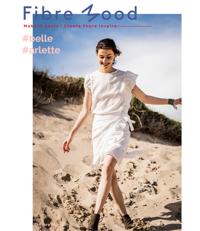 Grace - broderie wit