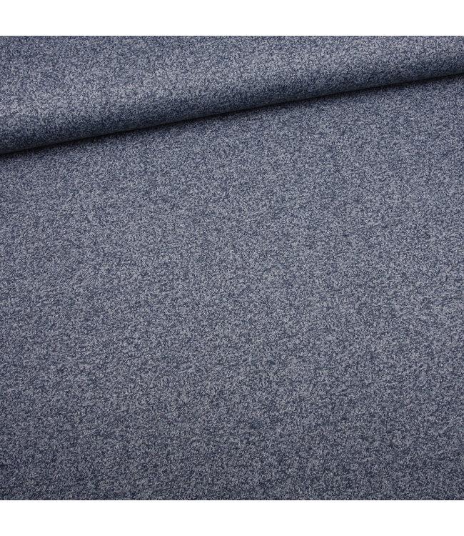 Melange knit - melee blauw