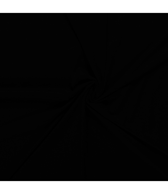 Fijne tricot - zwart