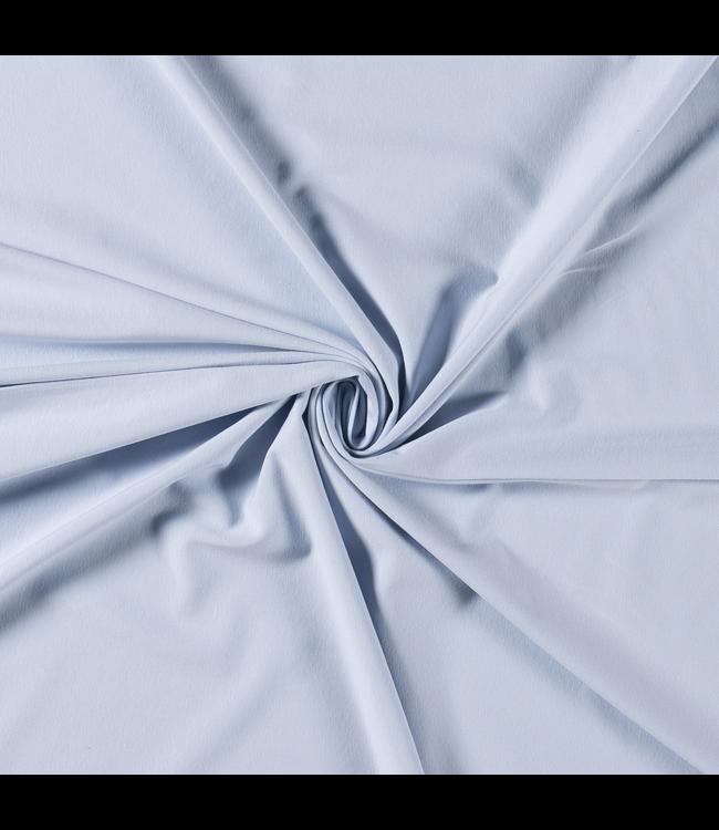 Katoentricot - babyblauw