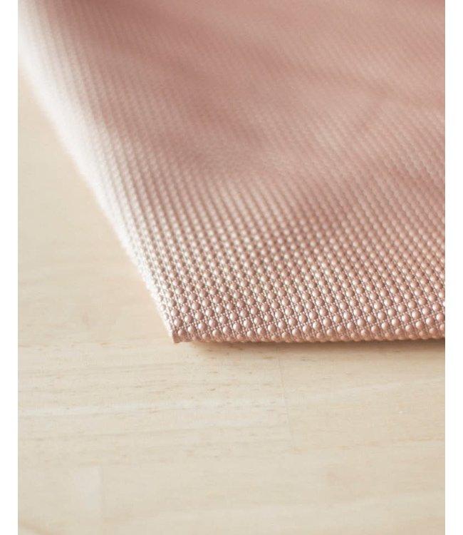 Vegan kunstleer druppels roze - 50x140 cm