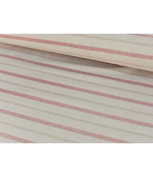 Dobby stripes - riviera
