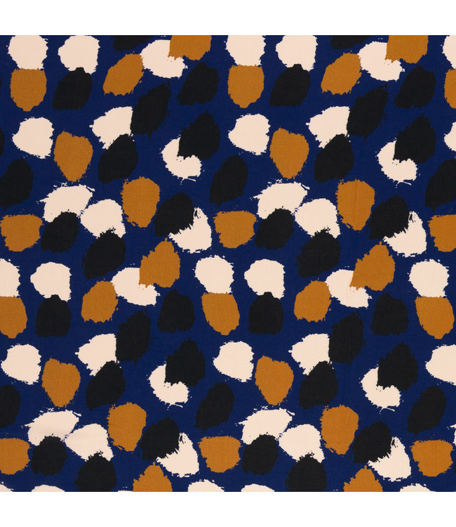 Antonia viscose - blauw