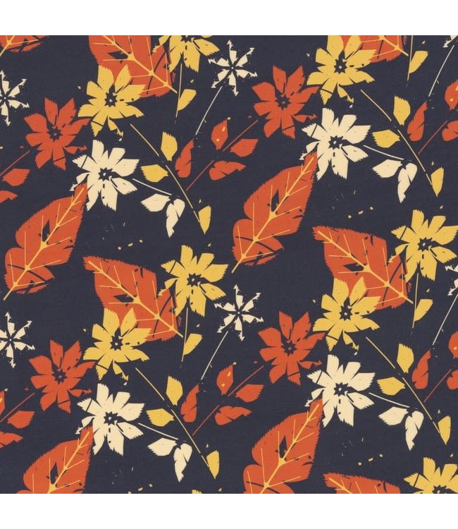 Pauline bloemen - viscose