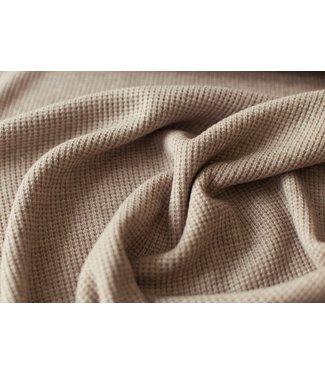 Olivia zachte knit - otter bruin