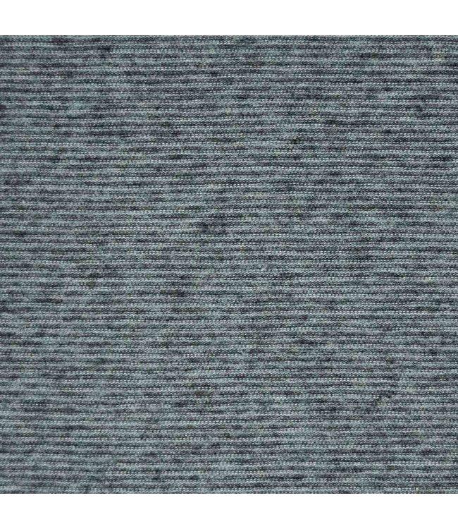 Multi stripes aqua anthracite - tricot