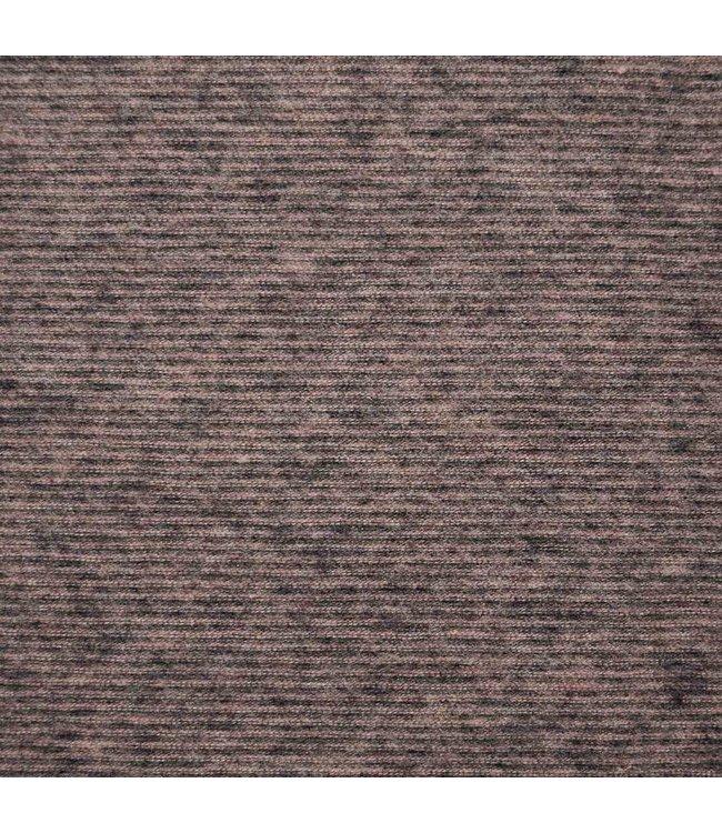 Multi stripes make-up anthracite - tricot