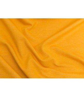 Denimlook tricot - oker