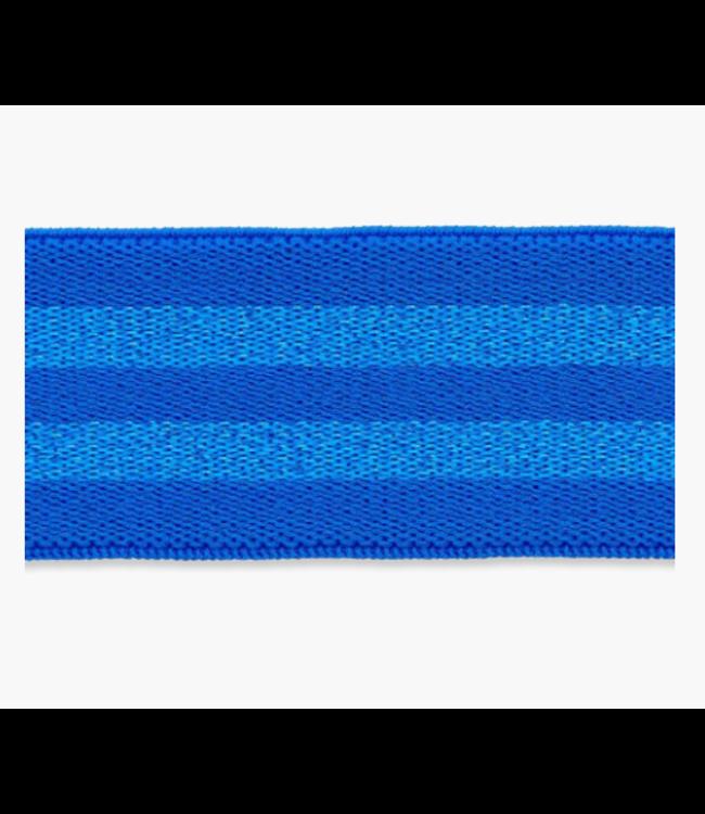 Zachte elastiek 30mm - blauw