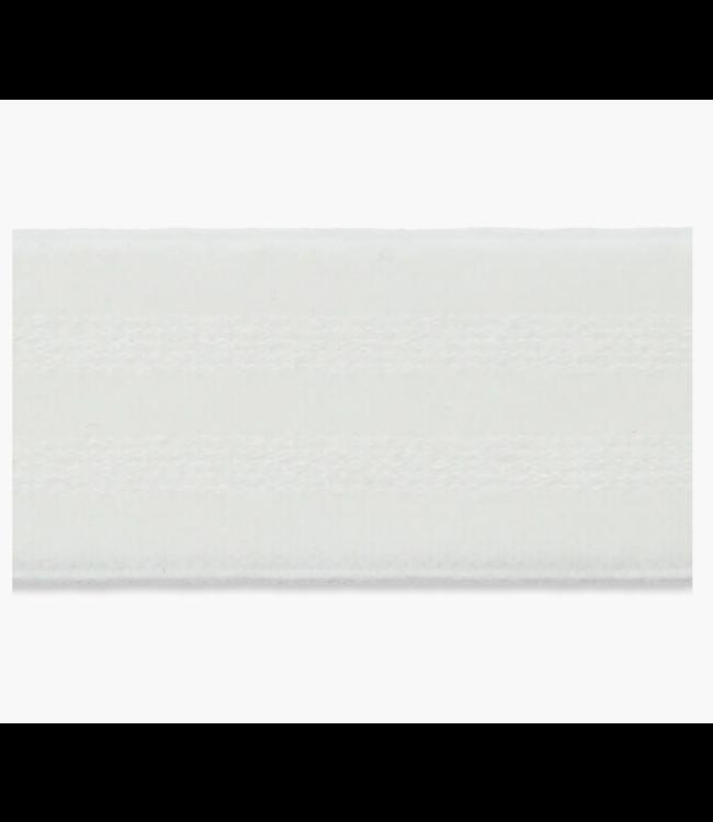 Zachte elastiek 30mm - wit