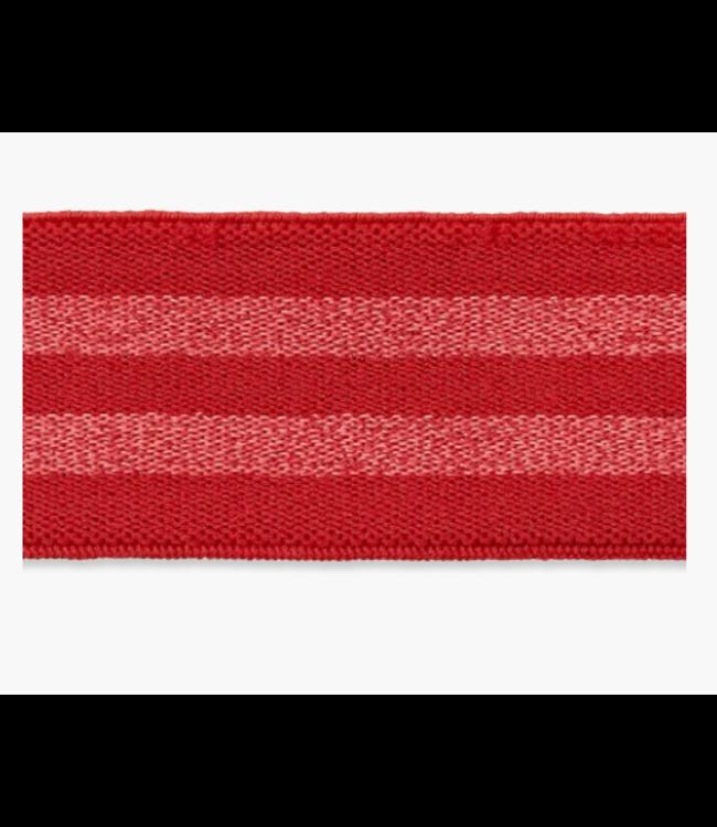 Zachte elastiek 30mm - rood