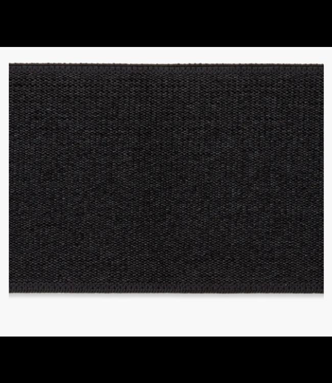 Elastiek 40mm - zwart
