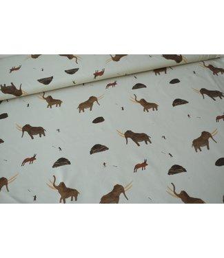 Capsule fabrics The extinct - french terry mammoths