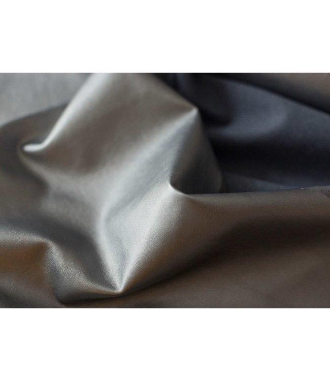 Kunstleder - zilver
