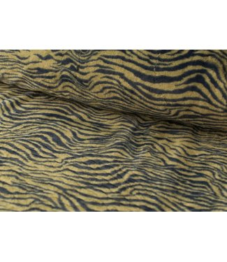 Faux fur - tijgergroen