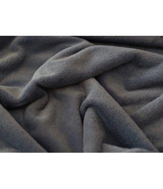 Faux fur - dusty blue