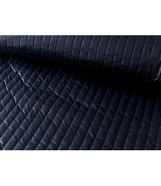 Stepped jassen - donkerblauw