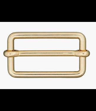 Schuifgesp goud - 30mm