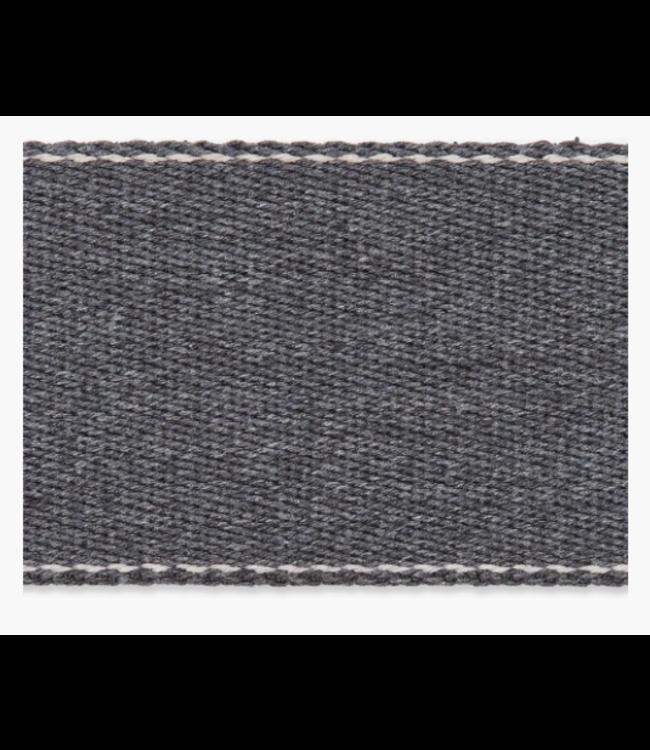 Zachte tassenband - grijs