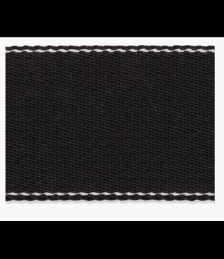 Zachte tassenband - zwart