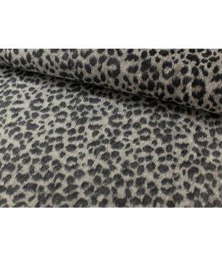 Mantelstof - leopard