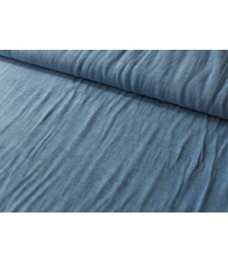 Lea - viscose blauw