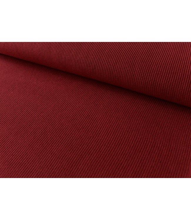 Olivia zachte knit - rumba rood