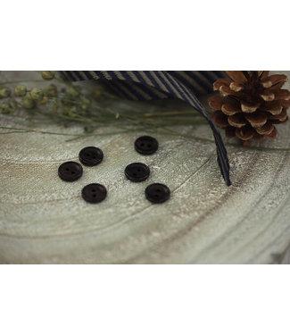 See You At Six SYAS18 Corozo knoop 12mm - zwart