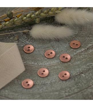 See You At Six SYAS18 Knoop metaal glad 11mm - rosé koper