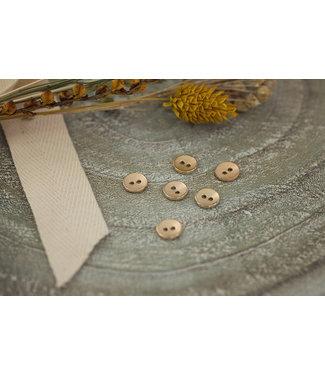 See You At Six SYAS18 Knoop metaal textuur 11mm - goud
