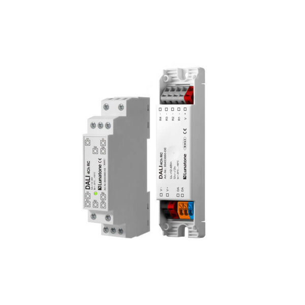 Lunatone DALI 4Ch RC Relais Controller Din Rail