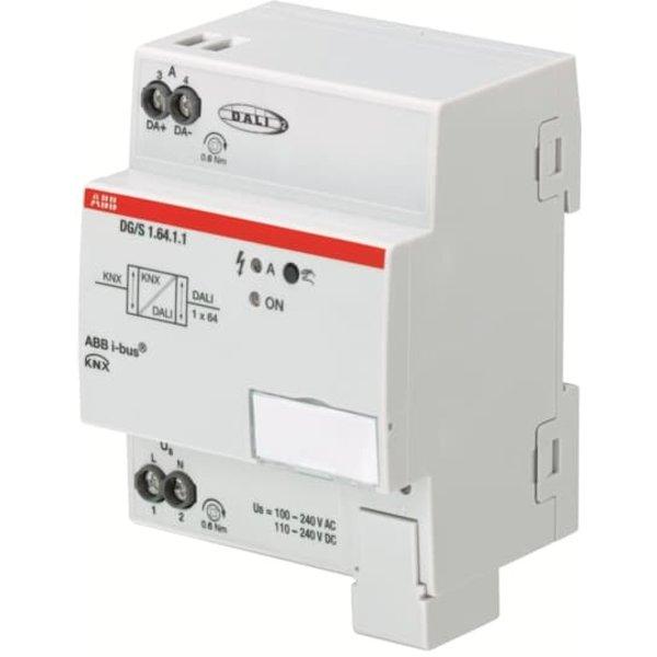 ABB DG/S1.64.1.1 DALI-Gateway, Basic, 1 voudig