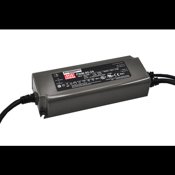 Meanwell PWM-90-12DA2  AC-DC Single output LED driver Constant Voltage (CV)