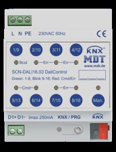 MDT DaliControl Gateway DALI16 met HSV-besturing