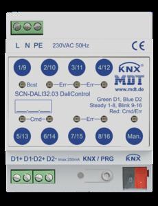 MDT DaliControl Gateway DALI32 met HSV-besturing