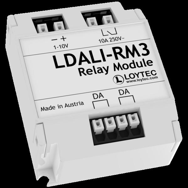 Loytec LDALI-RM3 10A/2500VA, 0-10V/1-10V UITGANG