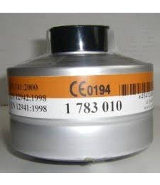 Aluminiumfilter (A2P3) für Vollmaske OptiFit Single - 1783010