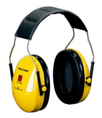 Optime 1 earmuffs Peltor - serre-tête