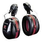 3M Safety Optime 3 earmuffs Peltor - Helm Montage