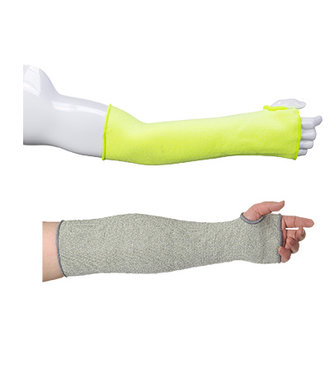 A690 - 18 Inch(45cm) Cut Resistant Sleeve - Yellow - R