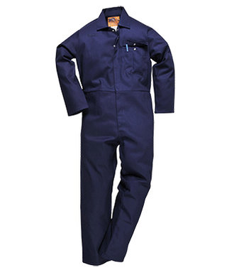 C030 - CE Safe-Welder Coverall - Navy - R