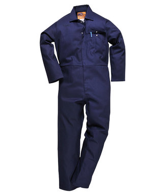 C030 - CE Safe-Welder Coverall - Navy T - T