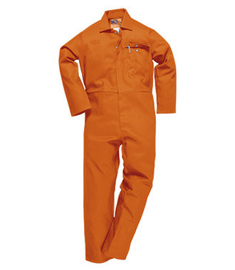 C030 - CE Safe-Welder Coverall - Orange - R