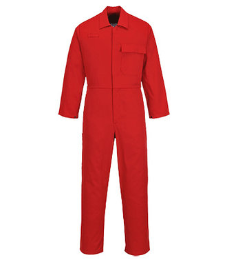 C030 - CE Safe-Welder Coverall - Red - R