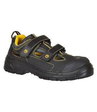 FC04 - Portwest Compositelite ESD Tagus Sandal S1P - Black - R