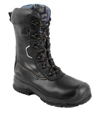 FD01 - Portwest Compositelite Traction 10 inch (25cm) Safety Boot S3 HRO CI WR - Black - R
